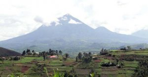 Virunga Volcanoes in kisoro  district